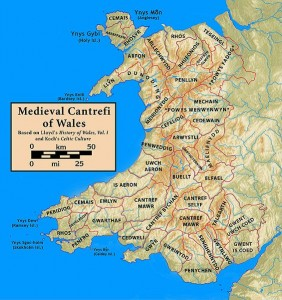 Cantrefs in Medieval Wales