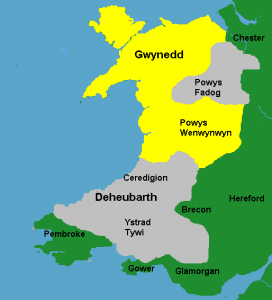 Llywelyn the Great's Wales 1217